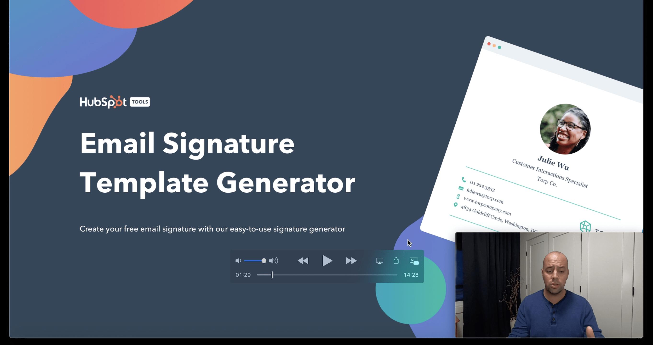 Free Email Signature Generator
